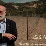 Carlo Petrini soutien Yann de Agostini pour l'exploitation du cépage Mollard dans les Hautes-Alpes