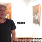 Présentation de l'artiste peintre Flized